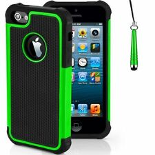 Housses et coques anti-chocs vert pour téléphone mobile et assistant personnel (PDA) Apple