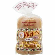 Martin's Sliced Potato Rolls- 12 pk 15 oz (4 bags)