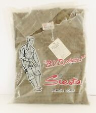Vintage Siesta Mens Medium M Robe Funky Groovy Hip Pattern Piping Green B.V.D.