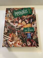 Bepuzzled Impossibles 'TIS THE SEASON 750 + 5 Extra Borderless Puzzle Complete
