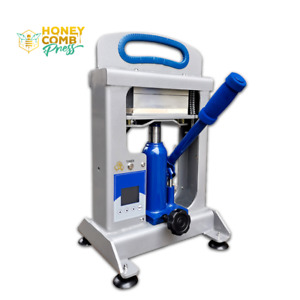 Rosin Press 7ton Hydraulic HoneyComb Press +Tool + Container+ Filter + Paper