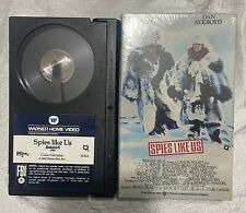 Beta Max Tape Video Movie 1985 Spies Like Us Chevy Chase Dan Aykroyd Untested