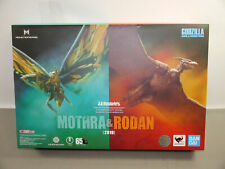 Godzilla King of the Monsters S.H Monster Arts Mothra & Rodan  Bandai  NEU (L)