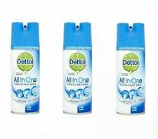 3 x Dettol Antibac All-in-One Disinf Spray Crisp Linen