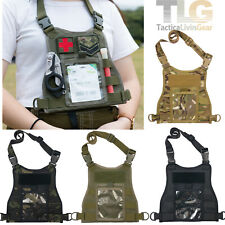 Mini Body Armor Style EDC ID Chest Plate Holder (4 Colors Option)