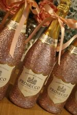 Glitter PROSECCO any colour pink rose gold blush cadbury purple birthday gift