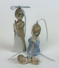 Lladro Holy Family Set Of 3 Miniature Nativity Ornaments