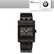 Rechteckige gebürstete Unisex Armbanduhren aus Edelstahl