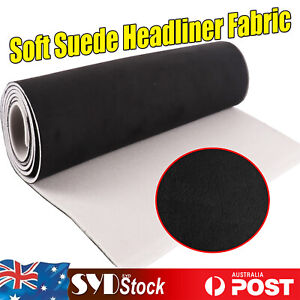 2.2Mx 1.5M Synthetic Suede Headliner Replace Fabric Auto Inter Liner Updated NEW