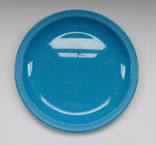"Harfield Blue Polycarbonate Plate 9"" Camping, Hiking, Fishing, Picnics and Beach"