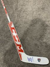 ROBERTO LUONGO Florida Panthers Autographed SIGNED Goalie Stick w/ COA