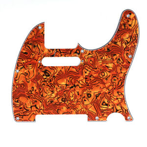 4 Ply Tele Pickguard for US/Mexico Made Fender Standard Telecaster Tiger Shell