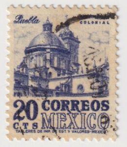1950-1952 Mexico - Postage - 20 C Stamp