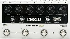 MOOER Preamp Live Guitar Preamp Pedal