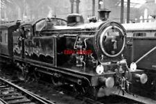 PHOTO  LNER N7/4 NO 69614 1958 AT STATION PILOT LIVERPOOL STREET RAILWAY STATION