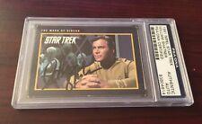 William Shatner Autograph Signed 1991 Impel Star Trek Card PSA/DNA