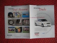 1999 Roush Trucks sales brochure F-150 / Expedition