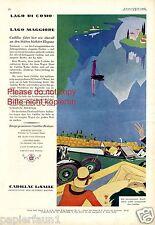 Cadillac lasalle XL publicitarias de 1929 Lago di nkomo Maggiore Tessin lago como