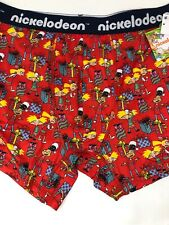 NEW Nickelodeon Characters Boxer Briefs Hey Arnold Christmas XL