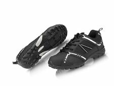 RALEIGH XLC ROAD TOURING CYCLE BIKE SHOES BLACK FLAT OR CLEATS SIZE 47 UK 12