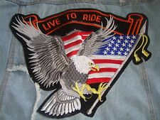 Live To Ride Jean Jacket