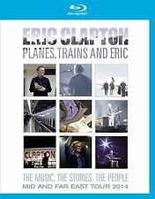 ERIC CLAPTON PLANES,TRAINS AND ERIC BLU-RAY ALL REGIONS NEW