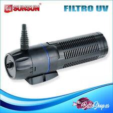 Sunsun Cup-129 9W filtro ultravioleta UV para eliminar algas acuarios estanques