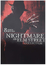 Nightmare on Elm Street Collection (DVD) • NEW • Freddy Kruger, Halloween