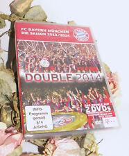 2 DVD SET 📢 FC BAYERN MÜNCHEN DIE SAISON 2013/2014 DOUBLE 2014 NEU OVP Fußballl