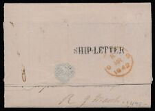 aa27 Mexico Outbound Maritime Cover Tampico > London Jan 1842 Est $100-200 w/Let