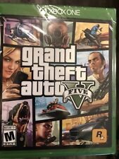 BRAND NEW SEALED Grand Theft Auto V 5 (Microsoft Xbox One, 2014) GTA V