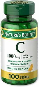 Vitamin C + Rose Hips by Nature's Bounty. Vitamin C is a Leading Vitamin for...