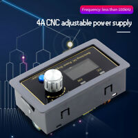 CNC DC DC Buck Boost Converter CC CV 4A Adjustable Regulated Power Module