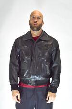 REDSKIN Veste Cuir Noir Style Casual Taille XL Man Man