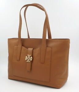 TORY BURCH Tasche, Handtasche, Leder, Bark, Braun, ehem. Uvp: 550Euro, NEU