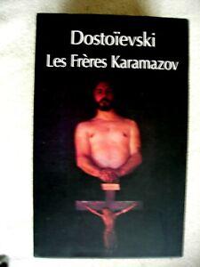 Les Frères Karamazov de Dostoïevski Coffret deux Volumes