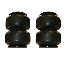 """2 - 2500 air bags 10.5"""" tall suspension part 1/2""""npt port air springs"""