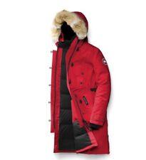 Parka Authentique Canada Goose Kensington Woolrich Rouge