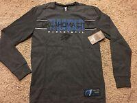 NWT NBA UNK Oklahoma City Thunder Long Sleeve Thermal Shirt Men's  XL MSRP $35