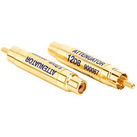 Harrison Labs 12 dB RCA Line Level Attenuator Pair