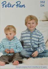 Baby lavoro a Maglia Motivo Libro PETER PAN BABY/per bambini DK 352 Lavoro a Maglia Motivo Libro