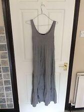 H&M Cotton Blend Sleeveless Dresses Round Neck