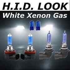 H11 HB3 55w 65w White Xenon HID Look High Low Fog Beam Headlight Bulb Pack