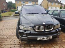 2004 BMW X5 4.8IS BLACK ** SPARES OR REPAIRS **