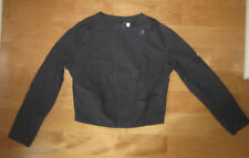 """NWT $160 PUMA by HUSSEIN CHALAYAN BLACK """"SAIL"""" CROPPED SPORTY CHIC JACKET S"""