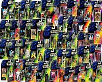 STAR WARS POWER OF THE FORCE CARDED FIGURES (41-80) - ALL MOC - SEE PHOTOS!