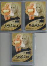 '14 BENCHWARMER GOLD ED. BLACK AUTO BOBBI BILLARD SET 1/3, 2/3, 3/3