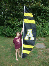 APPALACHIAN UNIVERSITY VERTICAL YARD FLAG, Embroidered by Evergreen