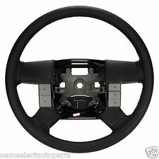 OEM NEW 2004-2008 Ford F-150 FX4 Steering Wheel Black Leather w/o Stereo Control