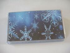 Snow Flacks Vinyl checkbook cover
